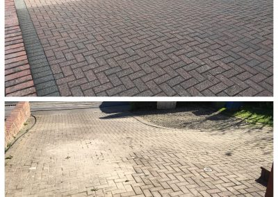 Block Paved Driveway Cleaning in Scarborough