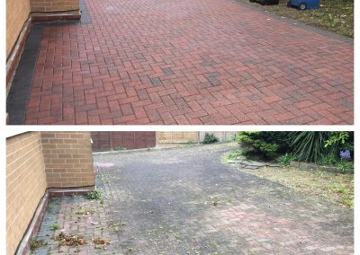 Block Paved Driveway Cleaning Harrogate