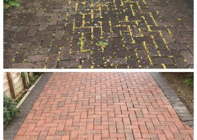 Block Paved Driveway Cleaning York
