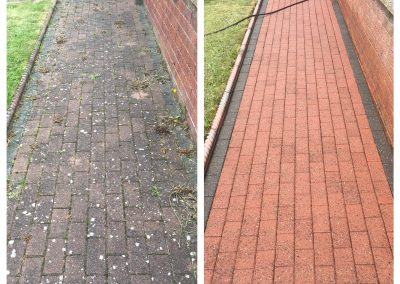Block Paved Path Cleaning Scarborough