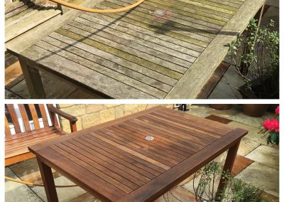 Garden Furniture Cleaning