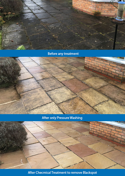 Patio Cleaning   Bubbles Pressure Washing Services Scarborough